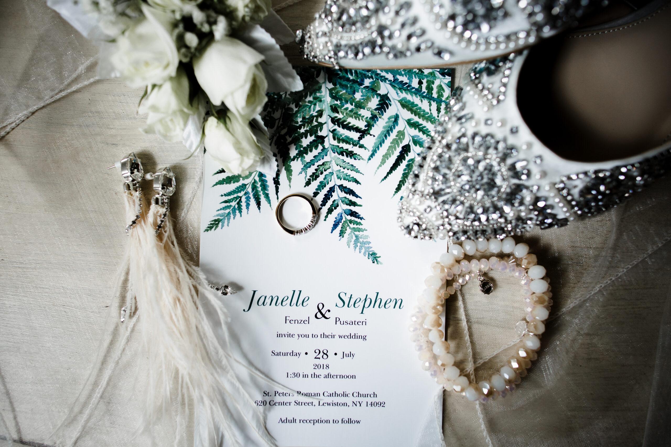 wedding: janelle + stephen
